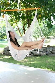 New addition -Beautiful Mexican chair hammocks  -NATURAL