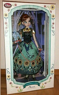 Disney limited doll Anna Partyfever 17´ / limitierte Edition Puppe Anna 17´