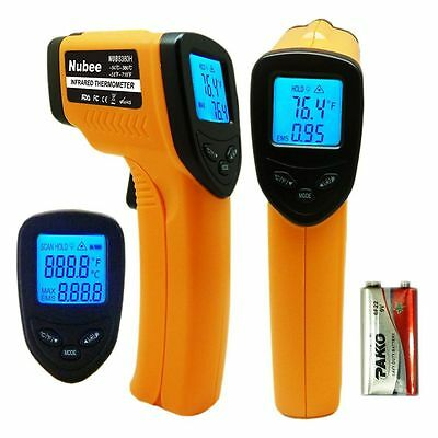 Nubee Temperature Gun Non Contact Infrared IR Laser Digital Thermometer Sensor