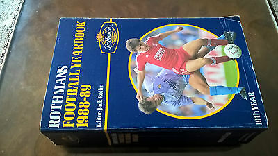 Rothmans Football Yearbook 88-89 Softback