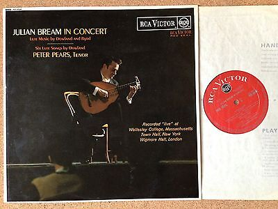 RB-6646 Julian Bream, Peter Pears, In Concert RCA Grooved Red Seal