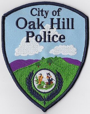 City of Oak Hill Police Patch West Virginia WV NEW!!