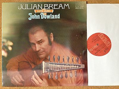 RL 11491 Dowland, Julian Bream Lute Musik Of John Dowland RCA Victor Red Seal