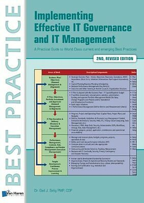 Implementing Effective It Governance and It Management Copertina flessibile