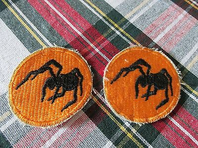 WW2 US Army 135th Airborne Deception Division Patches x2