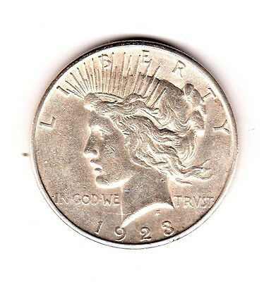 1923-S  Peace Silver Dollar  . . . Free  Shipping ... Merry Christmas