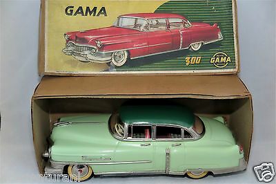 GAMA 300 Cadillac Car 50s Duocolor NM + Box Friction works / Friktion Auto in OK