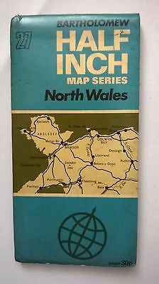 Bartholomew half inch map of North Wales (number27)