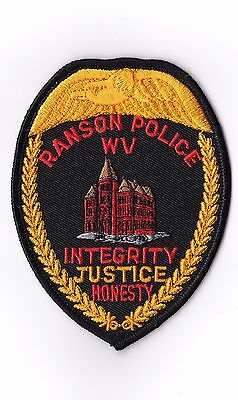 Ranson Police WV West Virginia Patch NEW!!