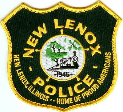 New Lenox Police IL Illinois patch NEW