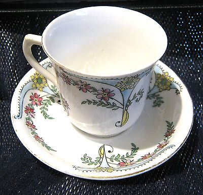 Vintage Blair China cup and saucer pre 1930 antique
