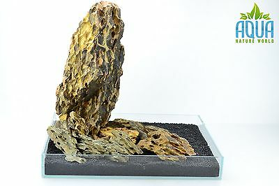 (A-5417)  ADA Dragon Stone Aquascaping Aquarium Iwagumi Style