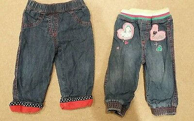baby girls jeans size 6-9 months