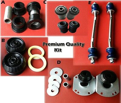 Holden Commodore VT VX VU VY VZ Front Chassis Control Bush Kit