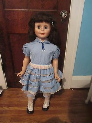 """Vintage Patti Playpal Life-Size Unmarked Clone Doll 36"""" SO CUTE!"""