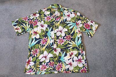 G Vintage Hawaii Shirt  Xl Hawaiian Aloha Hut