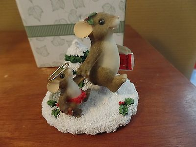 Fitz and Floyd Charming Tails Figurine-My Little Angel  #84