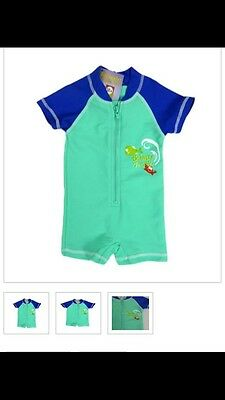 Baby Boys Swimsuit With UPF 50+ Size 2