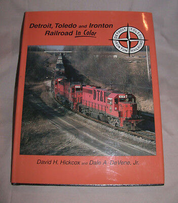 DT&I Detroit Toledo & Ironton Color MORNING SUN BOOKS Out Of Print & RARE