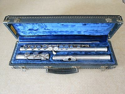 Armstrong Model 80 Solid Silver Flute 1965