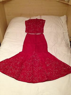 Indian Red Lenga Size 12 Approx