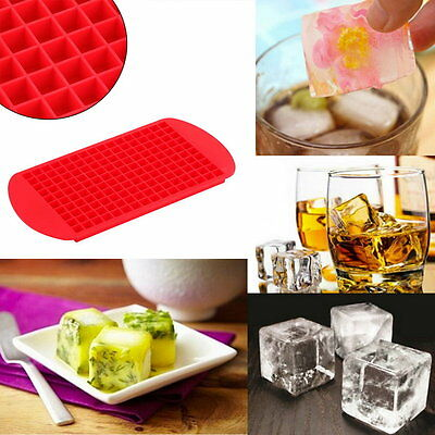 1pc 160 Ice Cubes Frozen Mini Cube Silicone Ice Mold Mould Tray Kitchen Tool BY