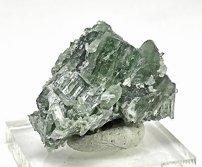 Tremolite - Beautiful Gemmy Green Crystals
