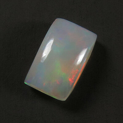 Beautiful Real 8x5 mm Fire ETHIOPIAN OPAL Rectangle Cabochon Gemstone 1.00 Cts