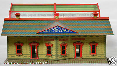 Pride Lines Tinplate Glass Dome Station Standard Scale