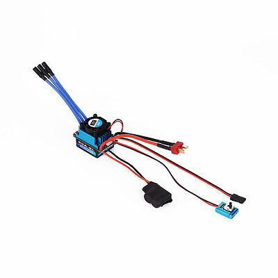 Racing 60A ESC Brushless Electric Speed Controller For 1:10 RC Car Truck BY