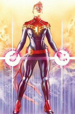 Mighty Captain Marvel #1 Alex Ross Incentive Variant Marvel Comics PreSale