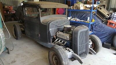 1933 Ford pick up hot rod unfinished project