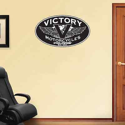 "Victory Motorcycles Polaris Racing Wall Decal Sticker 25"" x 14"""