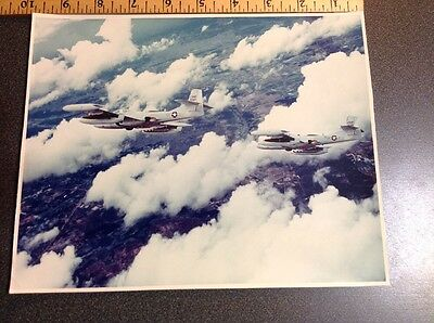 Vietnam War Original Photo 1967 A-37A Stamped Dated US Air Force Unclassified