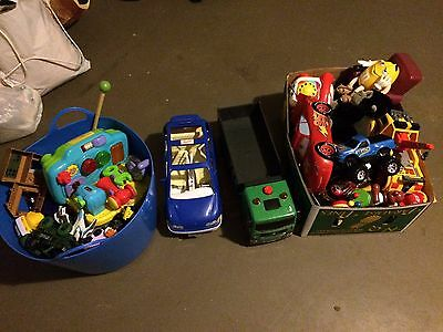 Bulk lot of kids toys - 2 boxes all excellent condition
