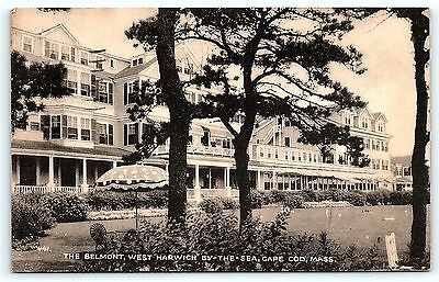 Postcard MA Cape Cod The Belmont Harwich By The Sea A8
