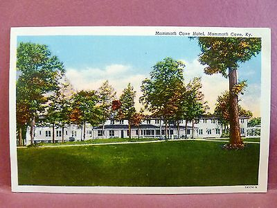 Postcard KY Mammoth Cave - Mammoth Cave Hotel