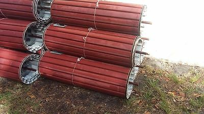 "43""Wide x 7' tall Metal Commercial Used Overhead Roll up Garage Doors"