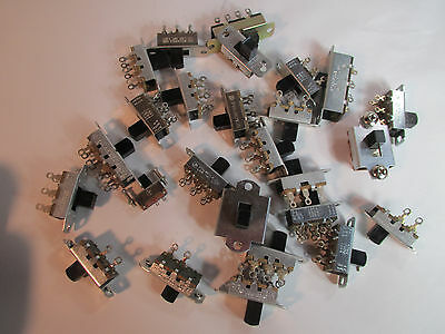 NEW LOT 26 Stackpole Stackcraft Slide Switches NOS