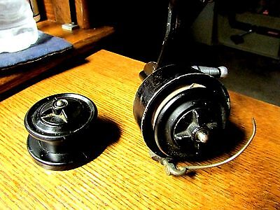~Vintage Mitchell Half Bail~Reel Works As Intended~~Spare Spool~Made In France~~