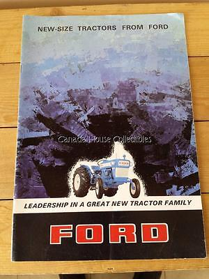 1960's Ford Super Major 4000 / 5000, Dexta 2000 / 3000 Tractor Sales Catalogue