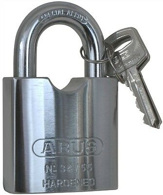 ABUS LOCK 34/55 Solid Steel Padlock - Simlar to American 700 and Master 930