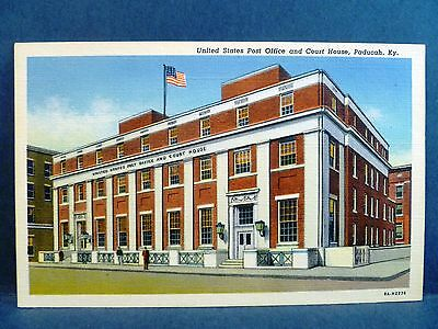 Postcard KY Paducah US Post Office & Court House