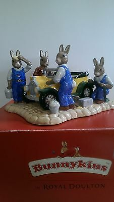Royal Doulton Bunnykins DB361 Tableau Just Like New. Mint Condition.
