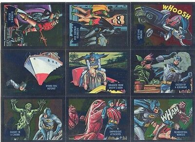 2016 Cryptozoic Justice League Batman Classic TV Series Cryptomium Card SET OF 9
