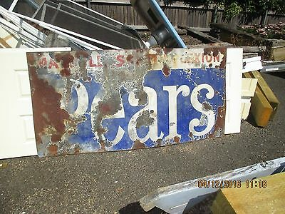 Pears Enamel Sign