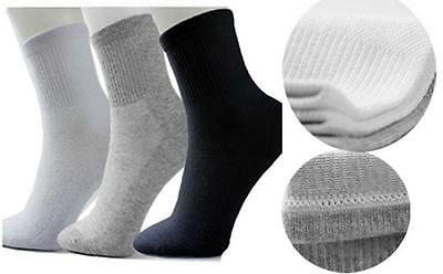 One Pair Men's Athletic Sock Soft Cotton Sport Gym Summer Winter Casual Socks