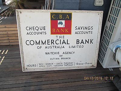 Commercial Bank Sign
