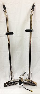 """Qty 2- 12"""" 2 Jet Lo-Profile Wand and 4"""" Detail Upholstery Tool"""
