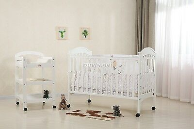 Brand New Classic Cot Package - 3In1 Cot,change Table & Mattress